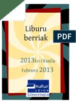 2013ko otsaila - Febrero 2013