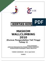 Proposal - Wall Climbing