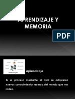 Aprendizaje y Memoria 2012
