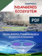 Biology  Chapter 9 - Endangered Ecosystem