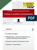 2008-11 Presentaion Bureau Veritas Fournisseurs