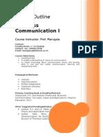 PGDM Session Plan BCI