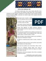 cestaria em palha de tucumã rio arapiuns