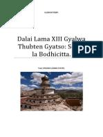 XIII Dalai Lama Thubten Gyatso Sobre La Bodhicitta
