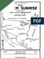 Themoslemsunrise1931-32 Iss 3