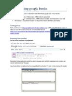 Downloading Google Books
