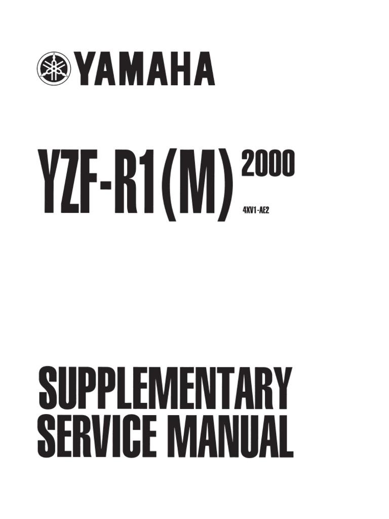 Yamaha Yzfr1 00 Service Manual [Www.ed2ksearch.tk