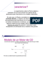 CaracterizaciónMotor