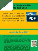 Tema 9. Reformas Fiscales 2001-2006-2012