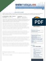 El perfil del agente de pastoral de la salud. Diócesis de Málaga