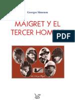 Simenon Maigret y El Tercer Hombre