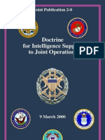 jp 2-0 intelligence support to joint operations (mar 2000)
