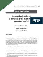 Chourio Antropología del rito