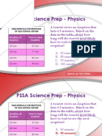 PS PSSA Prep Physics Review