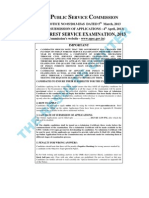 Upsc - Indian Forest Service Examination, 2013