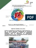 Informe Institucional Final 2011-2012 Zona 73