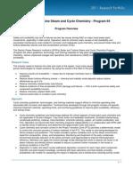 EPRI 2011 Boiler & Turbine Steam & Cycle Chemistry - Program 64