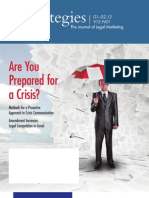 Are You Prepared for a Crisis?