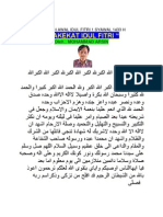 Khutbah Awal Idul Fitri 1 Syawal 1433 h