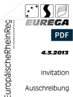 EUREGA 2013 Invitation