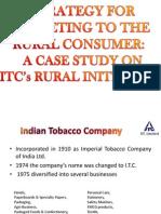 Itc Marketing Strategy