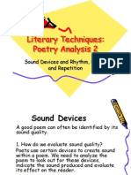 Literary Techniques Poetry Analysis 2