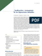 Clasificacion y Tratamiento Hipoacusias Infantiles