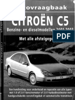 workshop manual Citroën C5phase1a