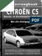 workshop manual Citroën C5phase1a
