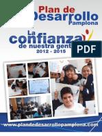 Plan de Desarrollo Pamplona La Confianza de Nuestra Gente 2012 2015