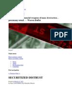 Securitized Distrust Part 1