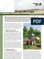 Greenwashing GM Crops