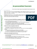 Test de Personalitate Financiara TrezesteBanii