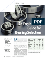 Engineering Guide for Bearing Selection