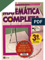 LIVRO DE MATEMÁTICA - GIOVANNI E BONJORNO - V3