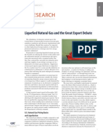 Liquefied Natural Gas and the Great Export Debate
