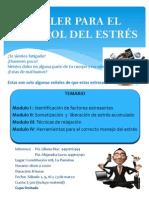 TALLER PARA EL ADECUADO CONTROL DEL ESTRÉS