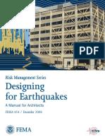Fema 454 - a Manual for Architects