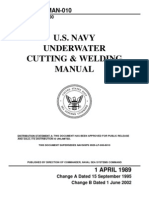 Navy Underwater Cutting & Welding