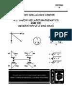 Army Electronics AC Math & Generation Sine Wave