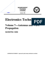 Navy Electronics Tech 7 Antennas Wave Propag