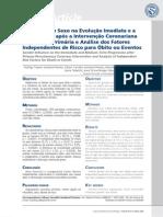 Influência do Sexo na Evolução Imediata e a Médio Prazo após Intervenção Coronariana Percutânea Primária e Análise dos Fatores de Risco para Óbitos ou Eventos