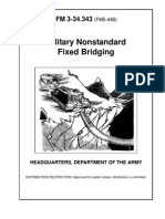 Army Engineer Mil. Nonstandard Fixed Bridging