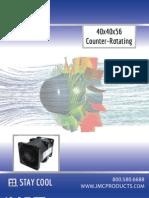 JMC 40x56 Counter Rotating Fan