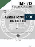 Army Vietnam Field Paint Letters Stencils