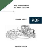 Marines Heavy Construction Equipment - Grader