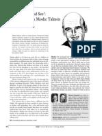 Moshe Talmon Interview