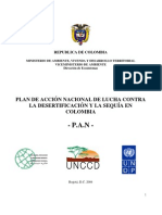 Plan Nacional de desertificación