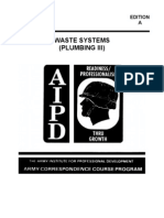 US Army Plumbing III Waste Systems