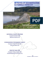 Porirua Harbour Seminar Series - Pres 7 - Sedimentation Patterns and Rates